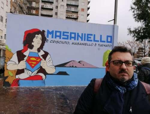 INAUGURAZIONE MURALE PIAZZA MASANIELLO